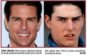 Tom Cruise before and after
